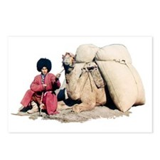 Turkmen Camel Driver Postcards (Package of 8)