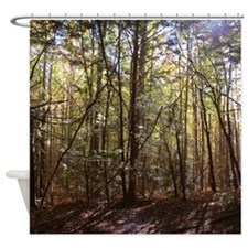 Nature Landscape Scenery Shower Curtain