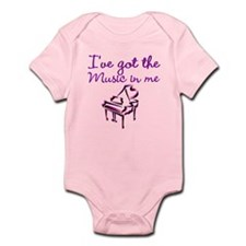 PIANO PLAYER Infant Bodysuit