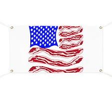 American Bacon Flag Banner