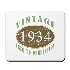 1934 Vintage Birthday Mousepad
