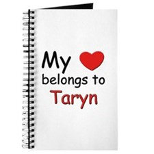 My heart belongs to taryn Journal