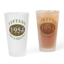 1954 Vintage Birthday Drinking Glass