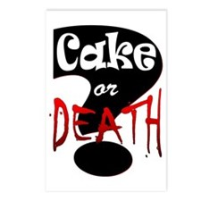 cake or death 2 Postcards (Package of 8)