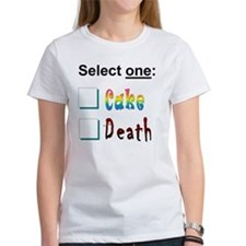 cake or death 3 Tee