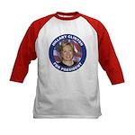 Hillary Clinton for President (Front) Kids Basebal