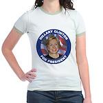 Hillary Clinton for President (Front) Jr. Ringer T
