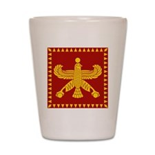Cyrus the Great Standard Flag Shot Glass