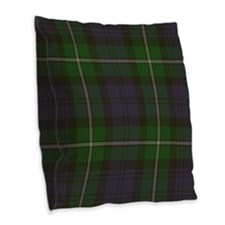 Forbes Tartan Burlap Throw Pillow