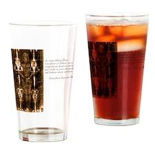 John 3-16- Latin Drinking Glass