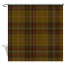 Finnegan Tartan Shower Curtain