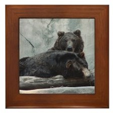 bears Framed Tile