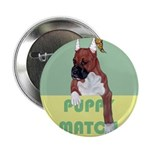 Puppy Boxer in Ear Tapes Button