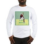 Puppy Boxer in Ear Tapes Long Sleeve T-Shirt