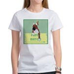 Puppy Boxer in Ear Tapes Women's T-Shirt