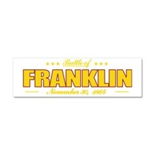 Franklin (battle) pocket Car Magnet 10 x 3