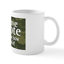 I have a VOTE Mug