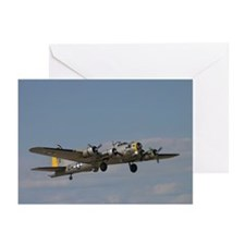 B-17 Flying fortress Greeting Cards (Pk of 10)