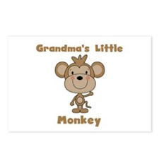 Grandma's Little Monkey Postcards (Package of 8)