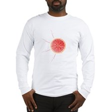 Grapefruit Juice Long Sleeve T-Shirt