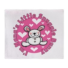 Nana's Snuggle Bunny Throw Blanket