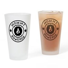 Mommy Powered Drinking Glass