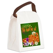 Had Me At Aloha green Canvas Lunch Bag