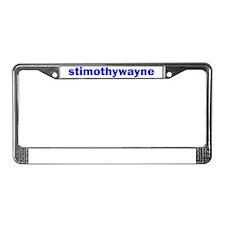 Stim License Plate Frame