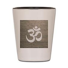 Namaste Yoga Symbol Shot Glass