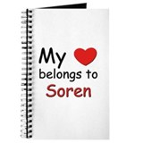 My heart belongs to soren Journal