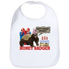 Honey Badger Happy Freakin' Birthday Bib
