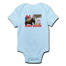 Honey Badger Happy Freakin' Birthday Onesie