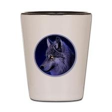 yule wolf Shot Glass