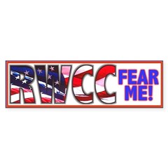 Fear Me RWCC Bumper Sticker