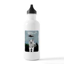 UFOs and Unicorns Water Bottle