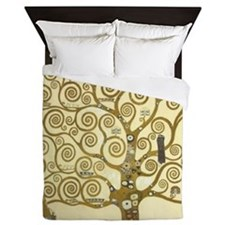 Tree of Life by Gustav Klimt Queen Duvet