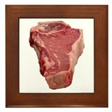 Meat Framed Tile