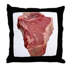 Meat Throw Pillow