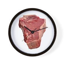 Meat Wall Clock