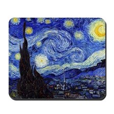 Starry Night by Vincent van Gogh Mousepad