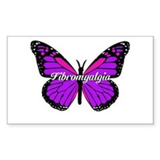 FIBROMYALGIA MONARCH Decal