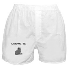 Custom Grey Seal Boxer Shorts