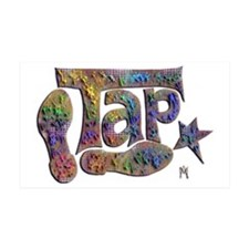 Tap spectrum clay Wall Decal