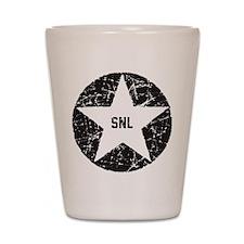 SNL Black Star Shot Glass
