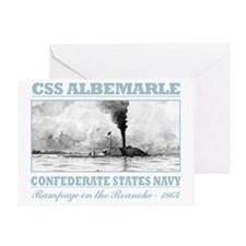 CSS Albemarle (B) Greeting Card