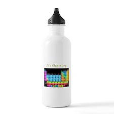 Its Elementary blk Water Bottle