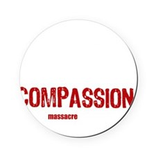 compassion-vegan-3 Cork Coaster