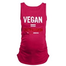compassion-vegan-3 Maternity Tank Top
