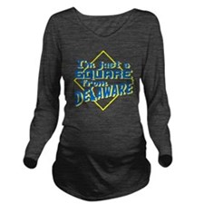 SquarefromDelaware Long Sleeve Maternity T-Shirt