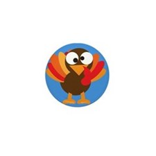 Thanksgiving Mini Button